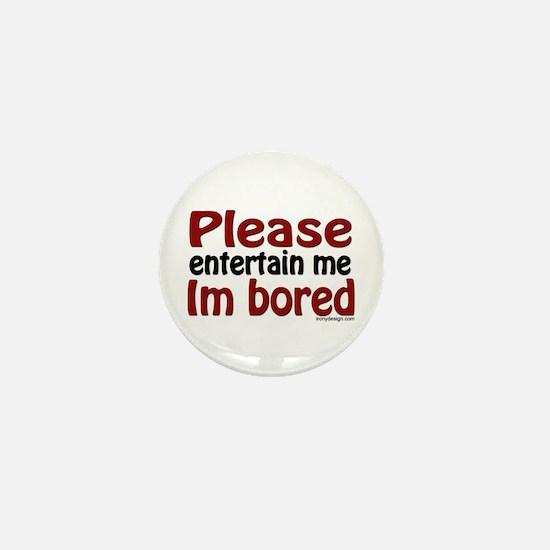 I'm Bored Mini Button