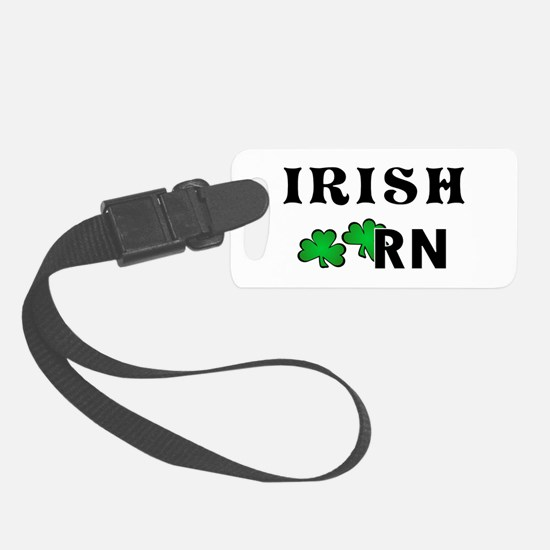 Irish Nurse RN Luggage Tag
