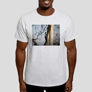 Wood Pecker Pecking Light T-Shirt