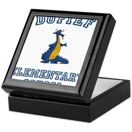 DuFief Elementary Dragon Keepsake Box