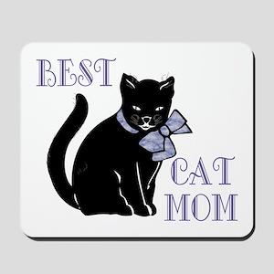 Best Cat Mom Mousepad
