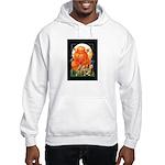 Corgi Halloween Men's Hooded Sweatshirt