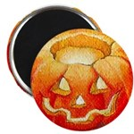 Halloween Pumpkin 'BOO' Magnet