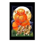 Corgi Halloween Postcards (Package of 8)