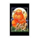 Corgi Halloween Rectangle Sticker