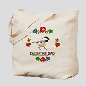Chickadee Lover Tote Bag