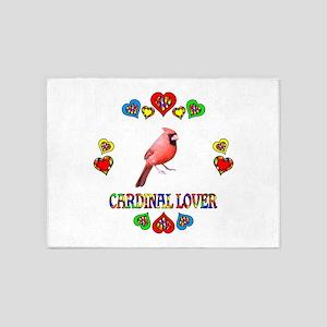 Cardinal Lover 5'x7'Area Rug