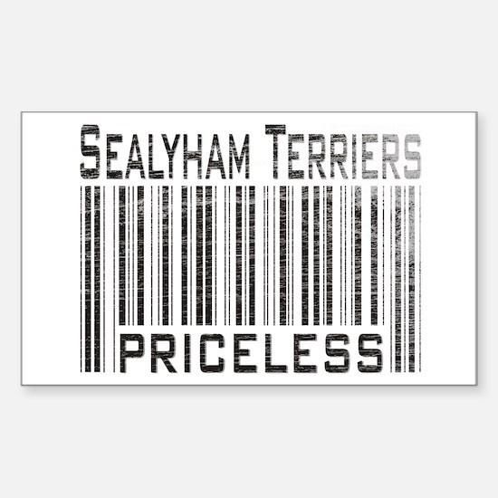 Sealyham Terriers Rectangle Decal