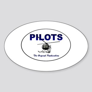 panhandler Sticker (Oval)