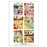 """23 x 35 Large Poster with """"Food For All"""""""
