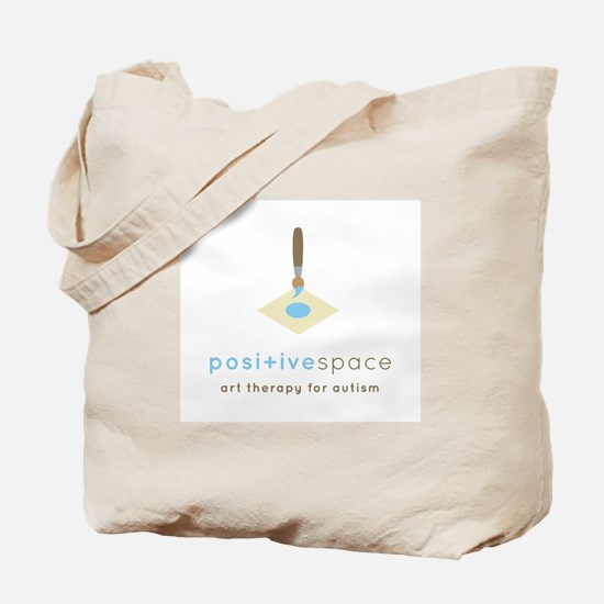 Positive Space Tote Bag