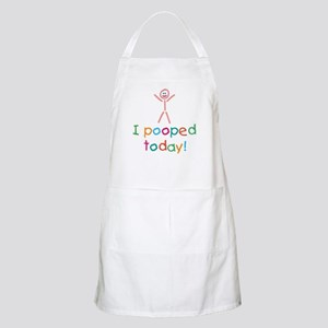 I Pooped Today Fun Apron
