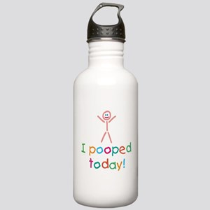 I Pooped Today Fun Stainless Water Bottle 1.0L