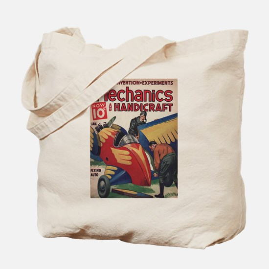 The Flying Auto Tote Bag
