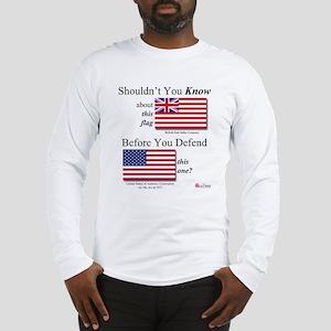 Corporate Flags Long Sleeve T-Shirt