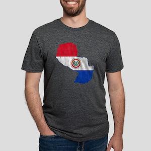 Paraguay Mens Tri-blend T-Shirt