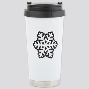 Flakey Stainless Steel Travel Mug
