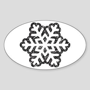 Flakey Sticker (Oval)