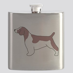 Welsh Springer Spaniel Flask