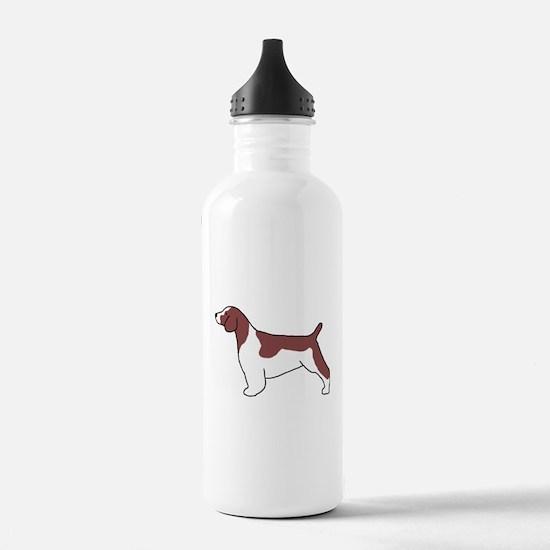Welsh Springer Spaniel Sports Water Bottle