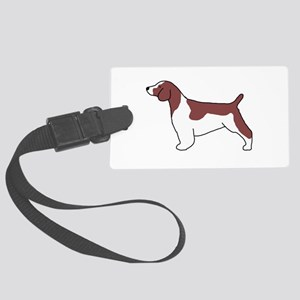 Welsh Springer Spaniel Large Luggage Tag