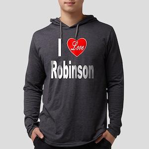 ILoveRobinsonTrans10x10 Mens Hooded Shirt