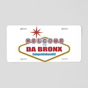 Da Bronx Aluminum License Plate
