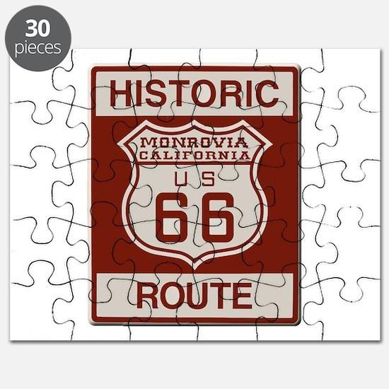 Monrovia Route 66 Puzzle