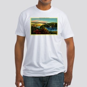 Inwood,NYC Fitted T-Shirt