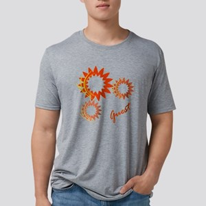 Guest Fire Wheels Mens Tri-blend T-Shirt