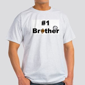 Number One Brother Ash Grey T-Shirt