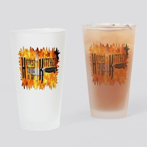 Hottest Thing in the Kitchen Drinking Glass