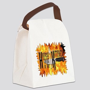 Hottest Thing in the Kitchen Canvas Lunch Bag