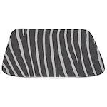 Zebra Stripes Bath Mat