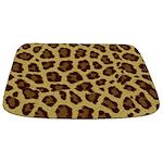 Leopard Print Bathmat