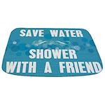 Shower With A Friend Bathmat