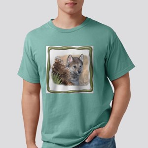 NA-lilbrowolfPL-1 Mens Comfort Colors Shirt