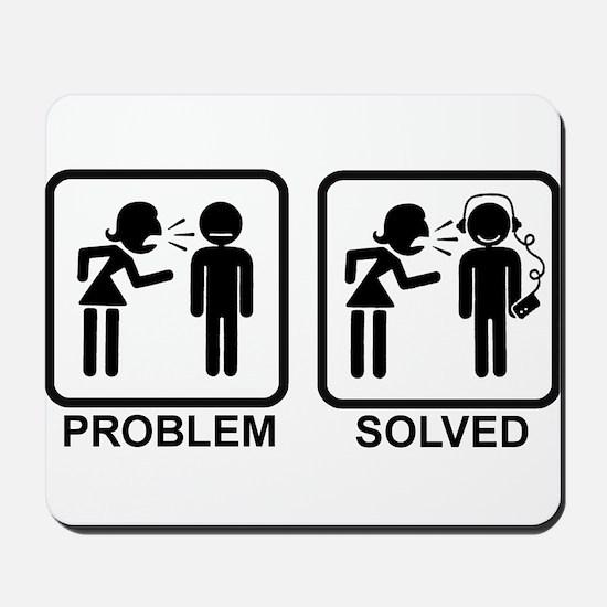 Problem Solved Mousepad