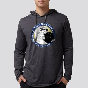 2-bowlingsquirrel Mens Hooded Shirt