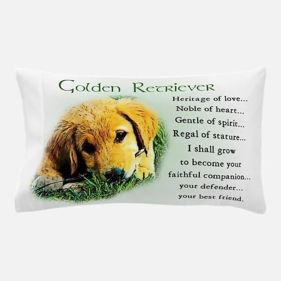 Golden Retriever Pillow Case