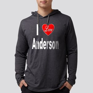 ILoveAndersonTrans10x10 Mens Hooded Shirt