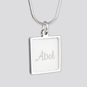 Abel Spark Silver Square Necklace