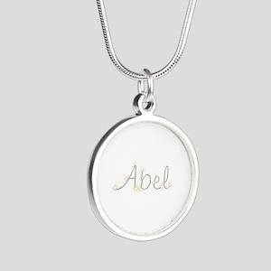 Abel Spark Silver Round Necklace