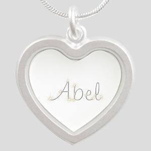 Abel Spark Silver Heart Necklace