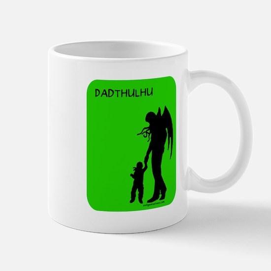 dadthulhu_4wht Mugs