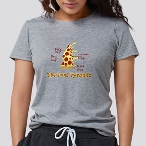 foodmid.png Womens Tri-blend T-Shirt