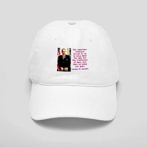 The American Covenant - Lyndon Johnson Baseball Ca