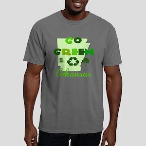 Go Green Arkansas Mens Comfort Colors Shirt