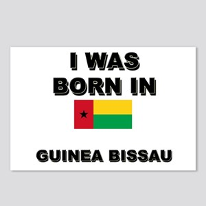 I Was Born In Guinea Bissau Postcards (Package of