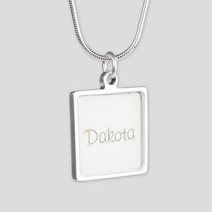 Dakota Spark Silver Square Necklace